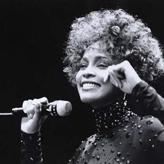 Whitney Houston had such a great smile.