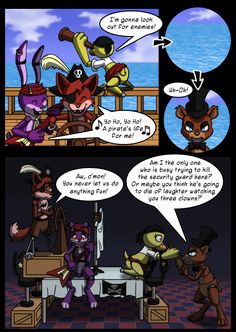 Pirate's Life Five nights at Freddy's