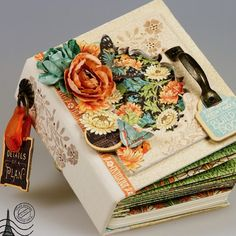 May 2015 G45 Artisan Style - Gorgeous Mini Album by Tati Scrap