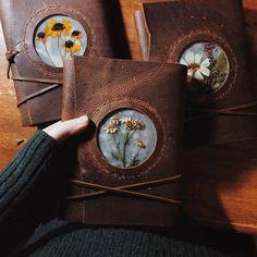 Wicca, Photo Polaroid, Witch Aesthetic, Foto Art, Handmade Books, Book Binding, Book Of Shadows, Art Journal Inspiration, Book Making