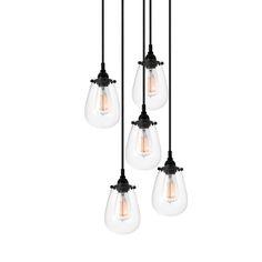 Chelsea Multi-Light Pendant | Transitional lighting, Cluster Pendant