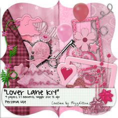 Lover's Lane Kit by MizzKitten21.deviantart.com on @deviantART