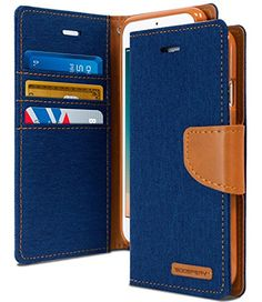 """iPhone 7 PLUS Case, [Wallet Case] GOOSPERY Canvas Diary [Shock Absorption] TPU Inner Casing [Anti-Slip] Denim Material [Card Cash Slots] Flip Stand Cover for Apple iPhone 7 PLUS (5.5""""), Blue & Brown  http://topcellulardeals.com/product/iphone-7-plus-case-wallet-case-goospery-canvas-diary-shock-absorption-tpu-inner-casing-anti-slip-denim-material-id-credit-card-cash-slots-flip-stand-cover-for-apple-iphone-7-plus-5-5/?attribute_pa_color=canvas-blue-tan-brown  One-of-a-Kind"""