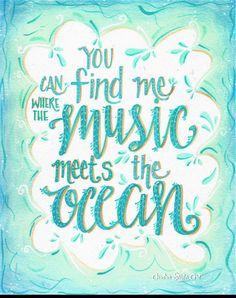 "You can find me where the music meets the ocean — Zac Brown Band ""Jump Right In"" lyrics 