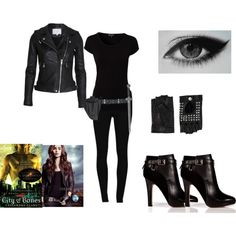 """""""The mortal instruments shadowhunter outfit!"""" by kimora216 on Polyvore"""