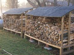 Good firewood storage