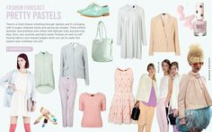 Pretty Pastels by TopShop