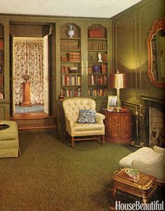 british house interior 1960s - Google Search