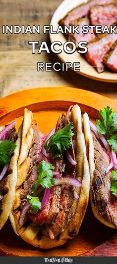 Meherwan Irani covers flank steak in a bright masala before it hits the grill