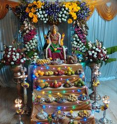 Varamahalakshmi- Decorations