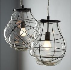 Organic Blown Glass Pendant from West Elm. Saved to For the Home : Lighting. Shop more products from West Elm on Wanelo. Blown Glass Pendant Light, Chandelier Pendant Lights, Glass Pendants, Kitchen Pendants, Rectangle Chandelier, Wire Pendant, Globe Pendant, Light Pendant, Chandeliers