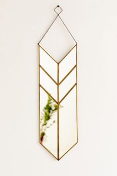 Magical Thinking Hanging Pennant Mirror