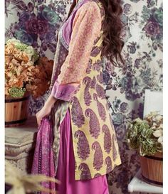 Feminine Embroidered Lawn Collection 2016 FEM_06A