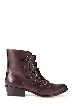 Must-Have Buckle Booties | FOREVER 21 - 2000128432