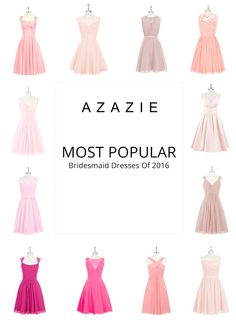 Azazie is the online destination for special occasion dresses. Our online boutique connects bridesmaids and brides with over 400 on-trend styles, where each is available in colors. Bridesmaids And Groomsmen, Wedding Bridesmaids, Wedding Looks, Dream Wedding, Fashion Dictionary, Small Weddings, Pink Bridesmaid Dresses, Quince Ideas, Wedding Inspiration