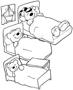 Preschool Teddy Bear Activities | ... preschool activities - goldilocks and the three bears preschool