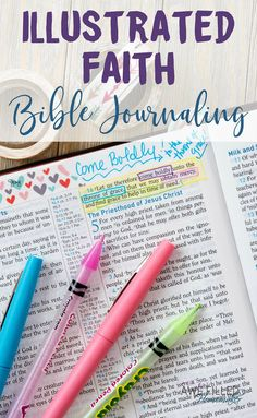 Did you know that you're Created 2 Create? It is true! I am not naturally crafty, that's why I love Illustrated Faith's Bible Journaling kits to help!