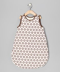 Pink & Brown Checkerboard Organic Sleeping Sack - Infant by Organic Natural Charm on #zulily today!  $27.99