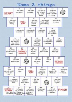 The series board games should be a funny, playful way to practice vocabulary and grammar orally. The instructions for the teachers are included.If you like this game, you can find more board games h English Lessons, Learn English, English Lesson Plans, Esl Lesson Plans, English English, Esl Lessons, English Activities, Teaching English, English Grammar Games