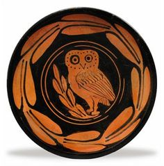 A LUCANIAN RED-FIGURED PLATE
