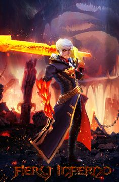 Fiery Inferno Skin Alucard of Mobile Legends by Laxzear on DeviantArt Book Wallpaper, Mobile Legend Wallpaper, Hero Wallpaper, Wallpaper Keren, Miya Mobile Legends, Alucard Mobile Legends, The Legend Of Heroes, Warrior Girl, Gaming Wallpapers