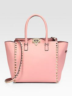 Valentino Rockstud Top-Handle Bag