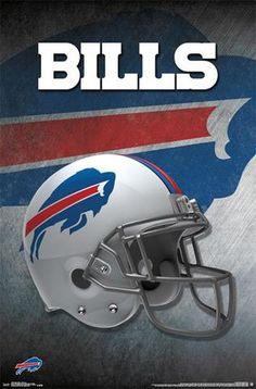 Buffalo Bills Official NFL Football Team Helmet Logo Poster - Trends  International 8bd38dff5