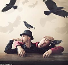 Shawn Van Daele is a photographer from Toronto Canada who loves to explore the possibilities of photography with photo manipulation. Surrealism Photography, Conceptual Photography, Art Photography, Inspiring Photography, Alfred Hitchcock The Birds, Walk Off The Earth, Quoth The Raven, Dream Images, Portrait Photo