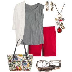 Untitled #567 by texasgal50 on Polyvore featuring J.Crew, Dolce Vita, Sakroots and Lucky Brand