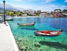 Прозрачная вода, Кефалонья, Греция