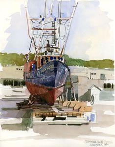 Shari Blaukopf, daily sketchbook | Urban Sketchers: Rockport and Gloucester