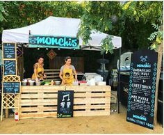 food truck and stands Monchis Barcelona catering & private events