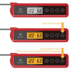 Flare KTH04 – Instant Food Thermometer with Free Belt Pouch available at CAPPEC.COM in just $14.95