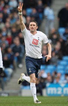 Robbie Keane of Tottenham Hotspur