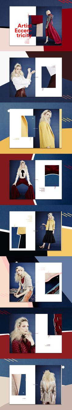 Ideas for fashion editorial layout magazine ideas Lookbook Layout, Lookbook Design, Editorial Layout, Editorial Design, Editorial Fashion, Magazine Editorial, Graphic Design Layouts, Graphic Design Inspiration, Graphisches Design