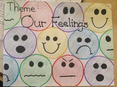 Preschool activities about feelings. pre-k