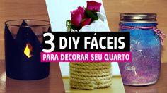 3 DIY fáceis para decorar seu quarto!  http://fiamapereira.com/3-diy-faceis-para-decorar-o-seu-quarto/