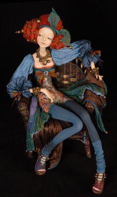 Tamara Pivnyuk Art Dolls / Dolls / Rina