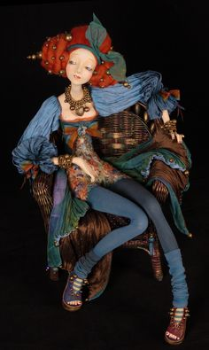 Авторская кукла Тамары Пивнюк / Куклы / Рина