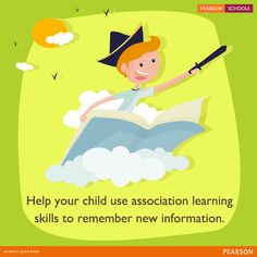 Associative learning is a condition theory which states that learning is based on a stimulus and a response. Find ways for your child to associate with the information and retrieve long-term memory. ‪#‎LearningMadeEasy‬