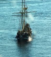 A pirate ship will take us out for the day on a rum run!
