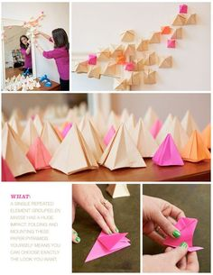 Origami how-to from Rue.