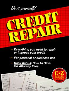 Do It Yourself! Credit Repair (E-Z Legal Guide) « LibraryUserGroup.com – The Library of Library User Group