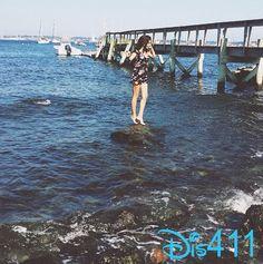 Photo: Rowan Blanchard Wishes She Was A Mermaid August 5, 2014
