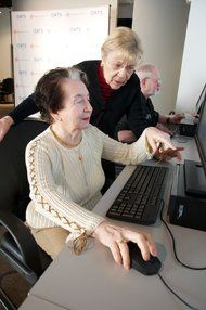 Helping Seniors Learn New Technology - In an era when everything, from personal health records to nursing home quality ratings, is moving online, when the best way to stay in touch with grandchildren may involve texting, this amounts to slow progress. The tech analyst Laurie Orlov of the Aging in Place Technology Watch blog has called for a national campaign to bring 100 percent of seniors online.