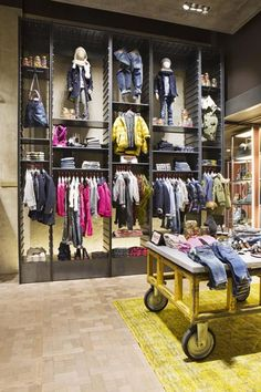 Replay new concept store - Antwerp (Belgium), fall 2013