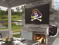 Use the Exclusive coupon code PINFIVE to receive an additional 5% off the East Carolina University Pirates TV Cover