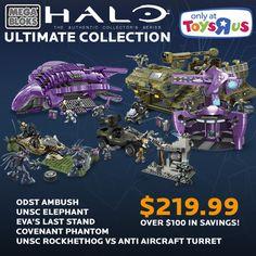 halo flood mega bloks | Halo Ultimate Collection @ ToysRUs.ca — over $100 off! | Mega Bloks ...