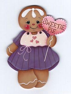 HP GINGERBREAD Sweetie Pie FRIDGE MAGNET