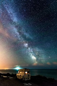 "- - *""Camping under the milky way""* ♥ Photo credits *Patrick Tanguy* https://500px.com/photo/224969677 #sea <https://plus.google.com/s/%23sea> #franc... - Zaid Abed -Ms - Google+"